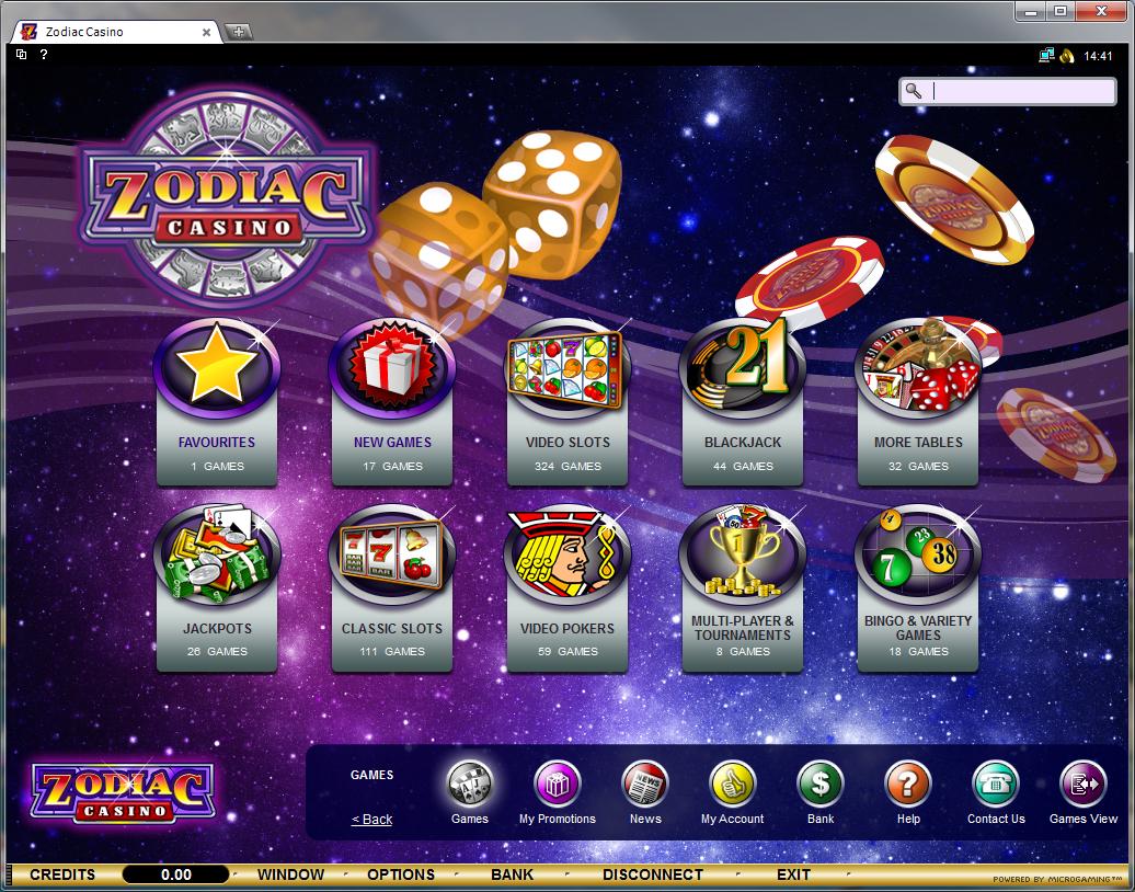 zodiacs casino