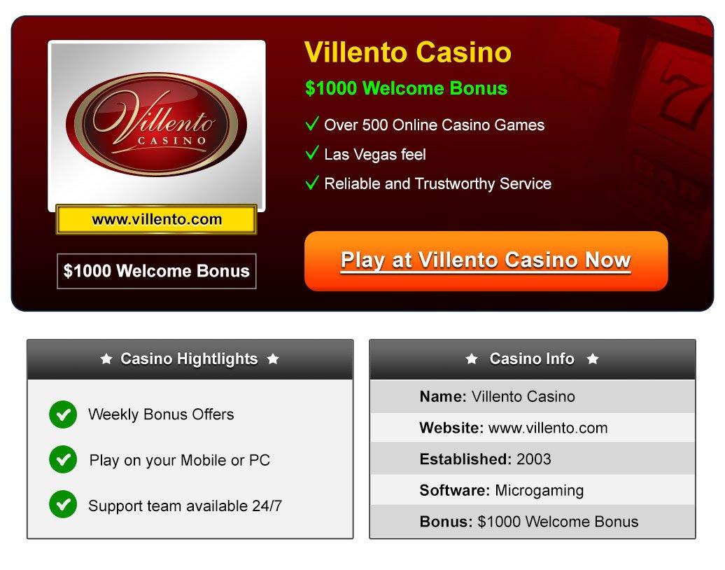 Villento Online Casino